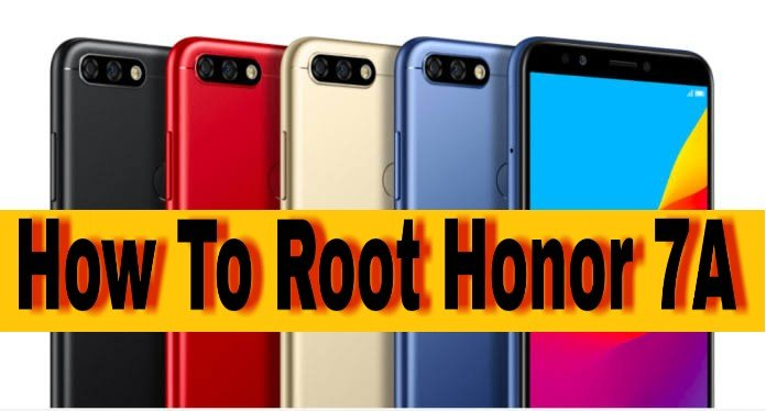 How To Root Honor 7A Whithout Pc